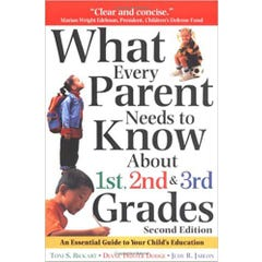 What Every Parent Needs to Know about 1st, 2nd and 3rd Grades