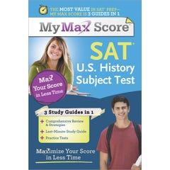 My Max Score SAT U.S. History Subject Test