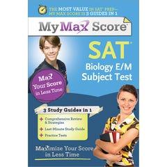 My Max Score SAT Biology E/M Subject Test