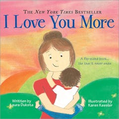 I Love You More Padded Board Book
