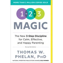 1-2-3 Magic: 3-Step Discipline for Calm, Effective, and Happy Parenting (6th Edition)