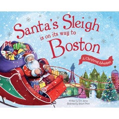 Santa's Sleigh Is on Its Way to Boston