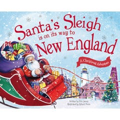 Santa's Sleigh Is on Its Way to New England