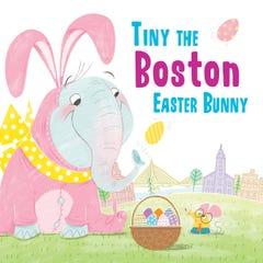 Tiny the Boston Easter Bunny