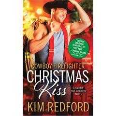 Cowboy Firefighter Christmas Kiss