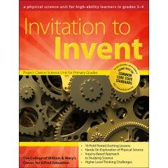 Invitation to Invent