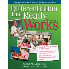 Differentiation That Really Works (Grades 3-5)