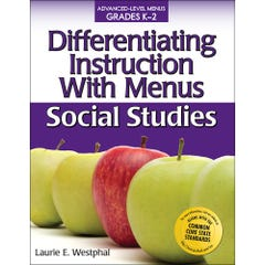 Differentiating Instruction with Menus: Social Studies (Grades K-2)