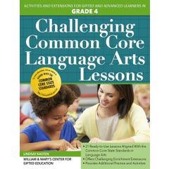 Challenging Common Core Language Arts Lessons (Grade 4)