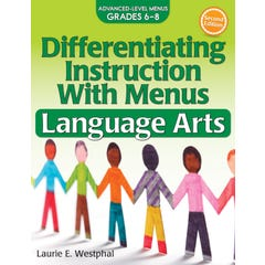 Differentiating Instruction with Menus: Language Arts (Grades 6-8)
