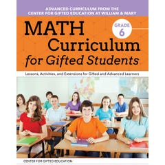 Math Curriculum for Gifted Students (Grade 6)
