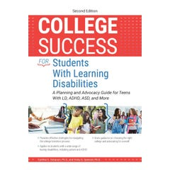 College Success for Students With Learning Disabilities