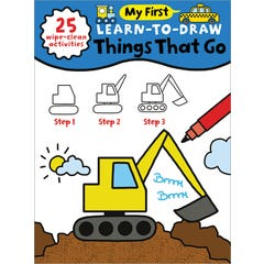My First Learn-To-Draw: Things That Go