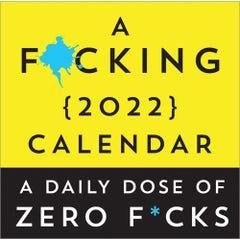 A F*cking 2022 Boxed Calendar