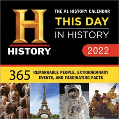 2022 History Channel This Day in History Boxed Calendar