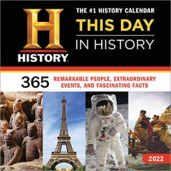 2022 History Channel This Day in History Wall Calendar