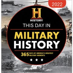 2022 History Channel This Day in Military History Boxed Calendar