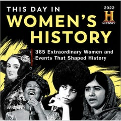 2022 History Channel This Day in Women's History Boxed Calendar