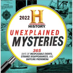 2022 History Channel Unexplained Mysteries Boxed Calendar