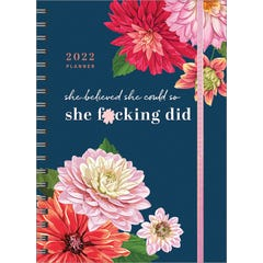 2022 She Believed She Could So She F*cking Did Planner