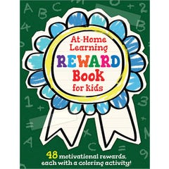 The At-Home Learning Reward Book for Kids