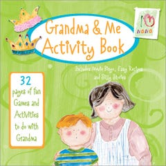 Grandma & Me Activity Book