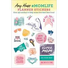 Amy Knapp's #MomLife Planner Stickers