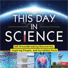 2021 This Day in Science Boxed Calendar