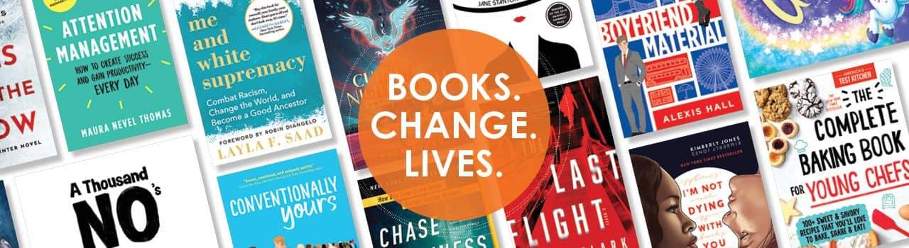 Sourcebooks, LLC. Books. Change. Lives.